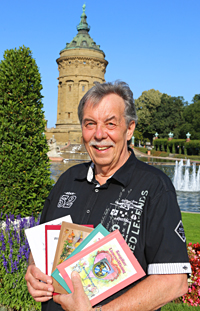 Rainer Holzhauser am Mannheimer Wasserturm